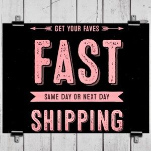 I have a FAST ship times!! 1 day on average!